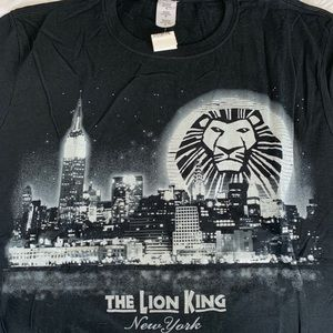 The Lion King on Broadway Glitter T-Shirt